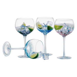 Set of 4 Speckle Gin Glasses
